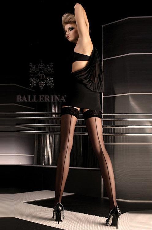 Ballerina 049 Stockings Black 20den