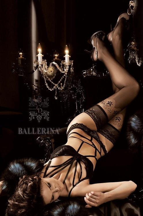 Ballerina 179 Stockings Black 20den/40den