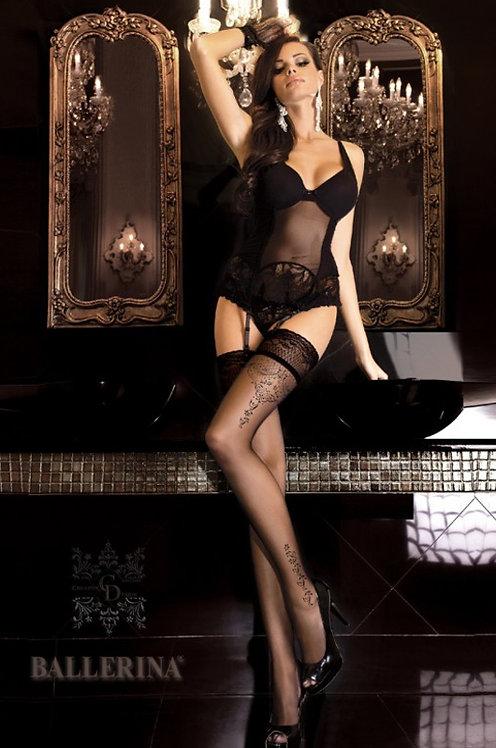 Ballerina 262 Stockings Black 20den