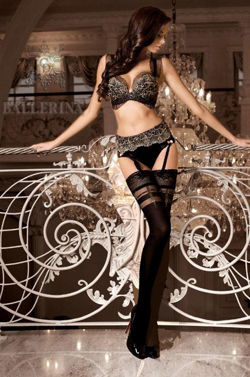 Ballerina 263 Stockings Black 20den/60den