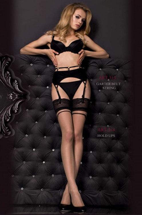 Ballerina 314B Stockings Black 20den