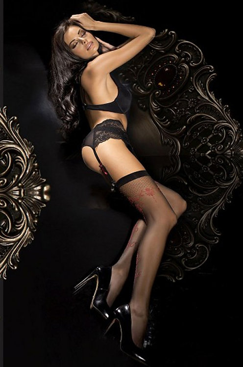 Ballerina 290 Stockings Black 20den