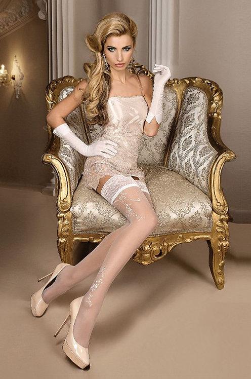 Ballerina 256 Stockings White 20den
