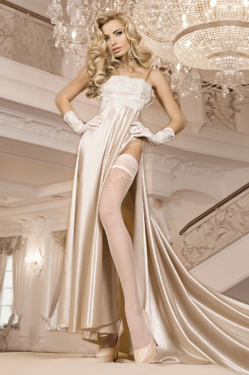 Ballerina 249 Stockings White 20den