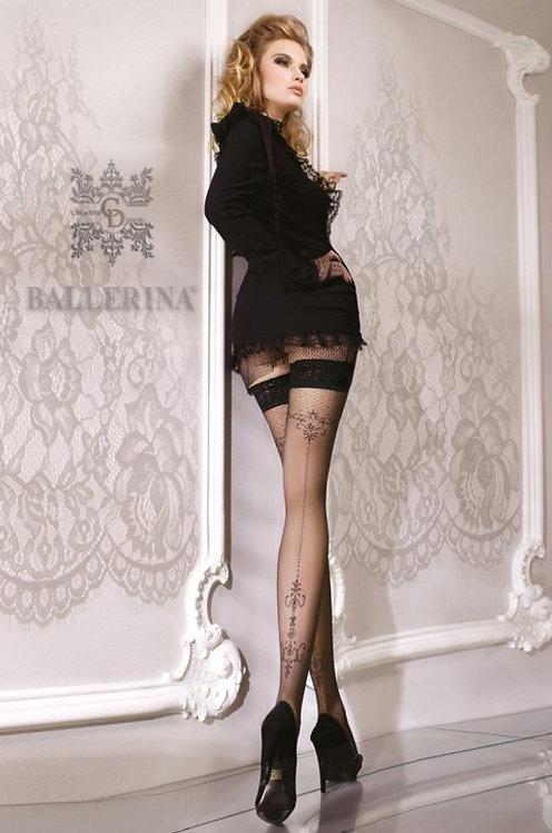 Ballerina 076 Stockings Black 20den