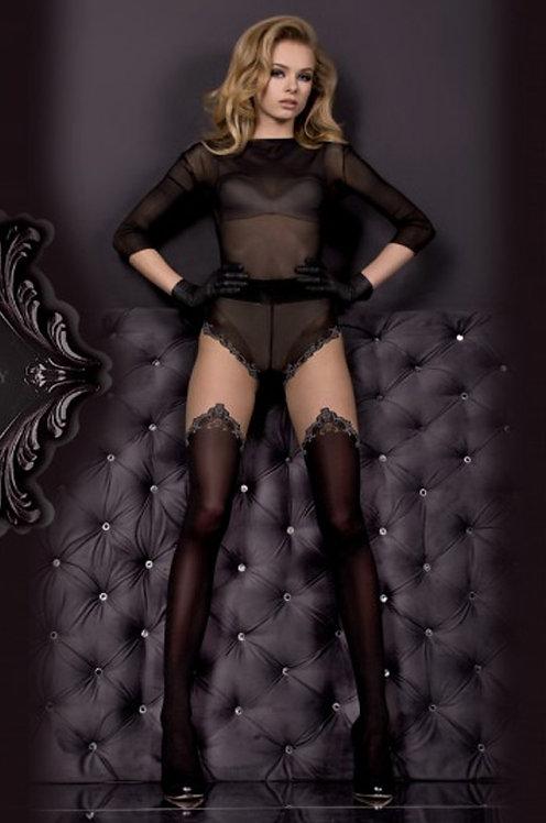 Ballerina 305 Tights Black / Grey 20den/50den