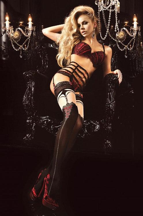 Ballerina 187 Stockings Black 20den/60den