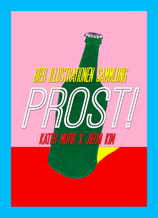"""Poster - for Exhibition """"Prost"""""""