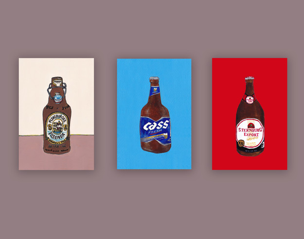 Beer Illustration Series
