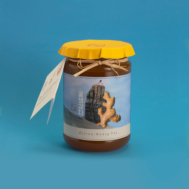 """Package Design Assignment """"Korean Traditional Ginger-Honey-Tee"""""""