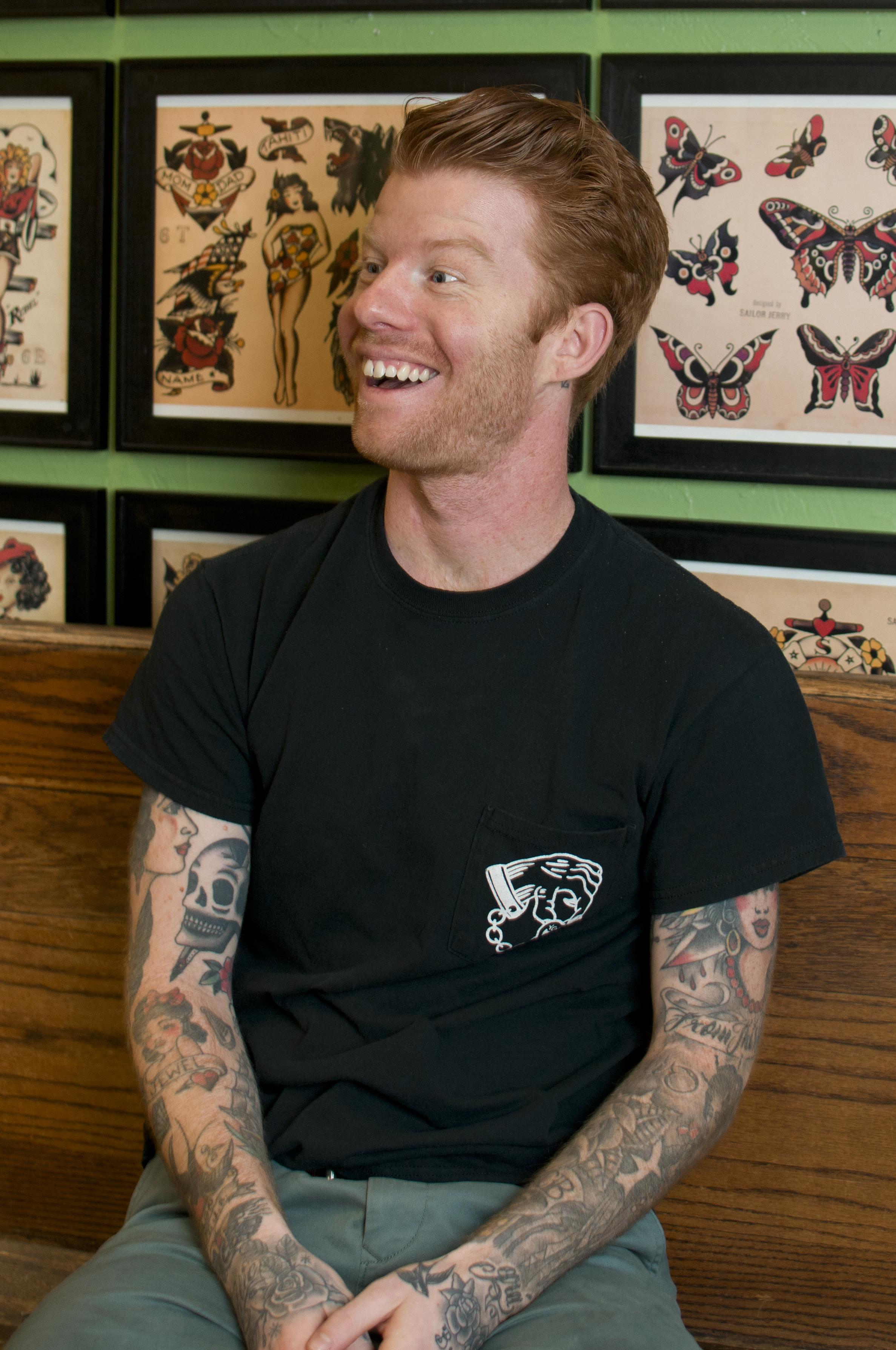 Max Becker: Tattoo apprentice