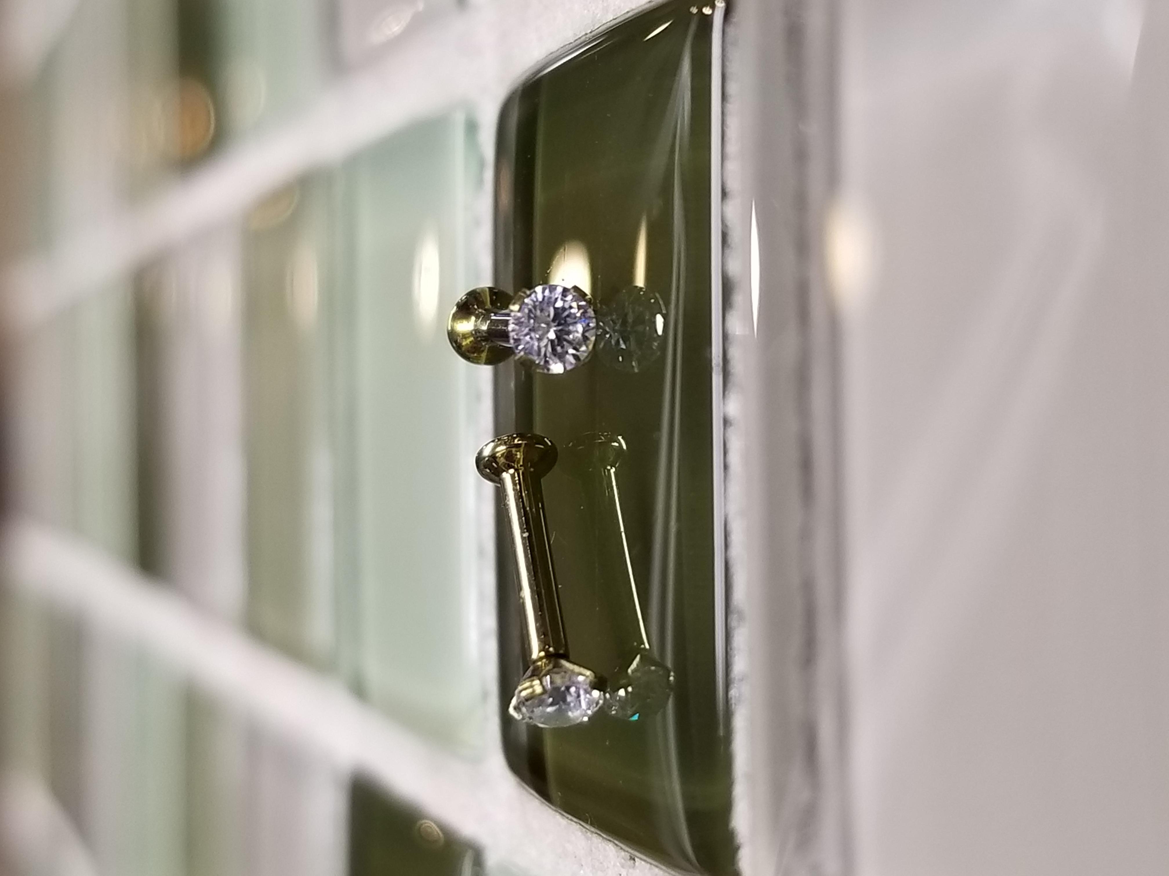 Titanium Swarovski crystals stones