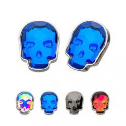 Glass Gem Skull