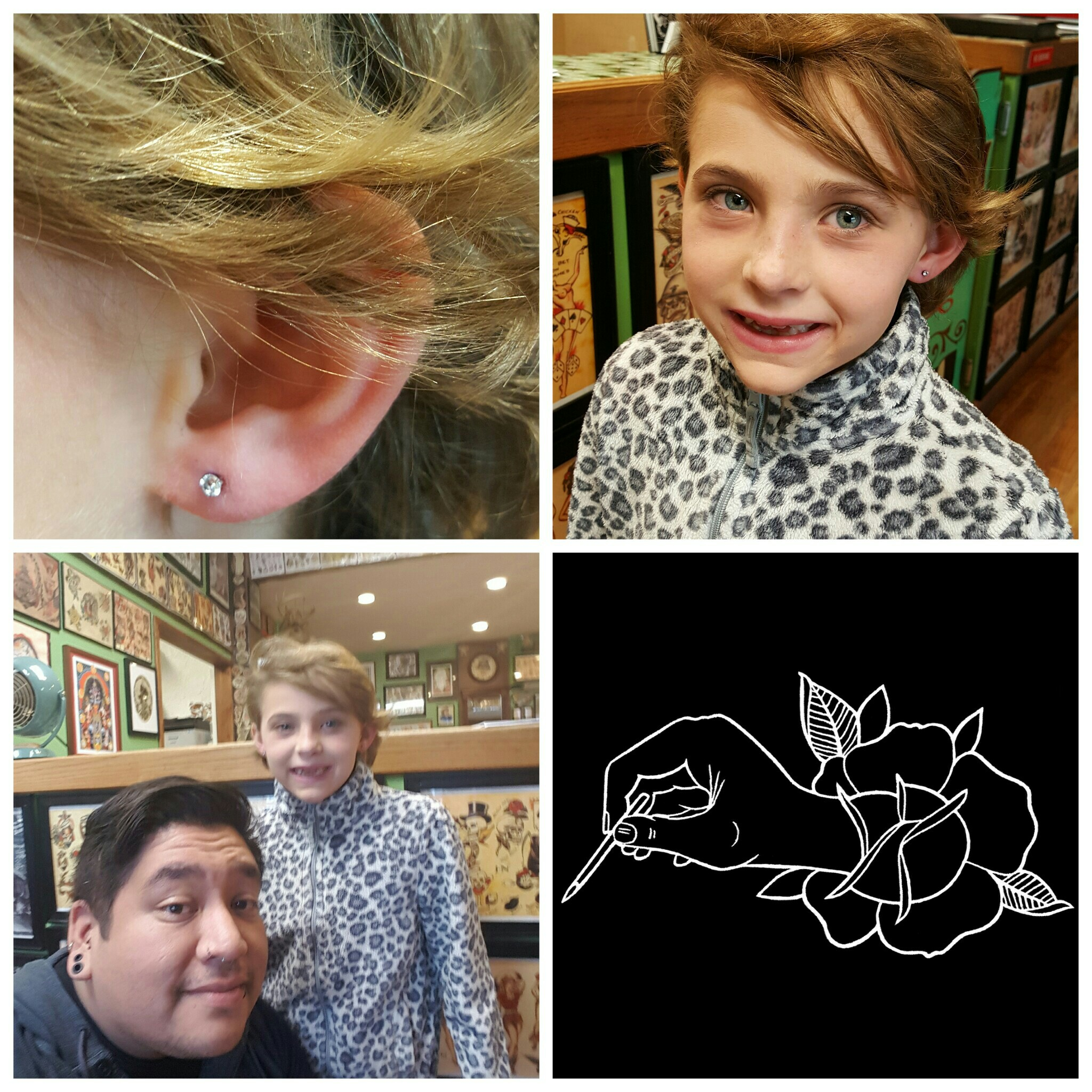 First Ear Lobe