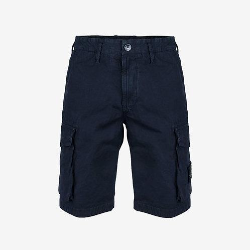 Stone Island Cargo Shorts - Navy