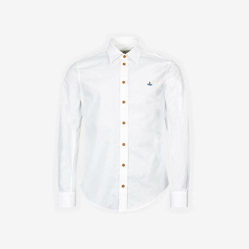 Vivienne Westwood Poplin Long Sleeve Shirt - White
