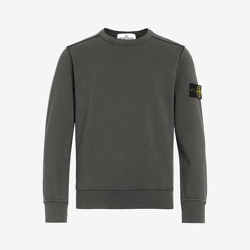 Stone Island Junior Crew Sweatshirt - Charcoal Grey