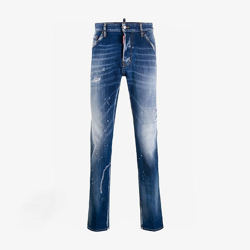 Dsquared2 Stonewashed Cool Guy Jeans - Blue