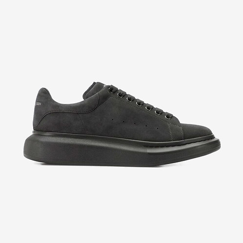 Alexander McQueen Oversized Suede Sneaker Grey