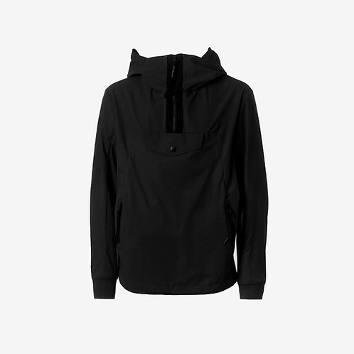 C.P. Company Kids Half-Zip Jacket Black Front