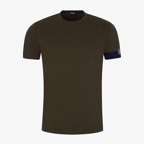 Dsquared2 Arm Patch T-Shirt - Khaki