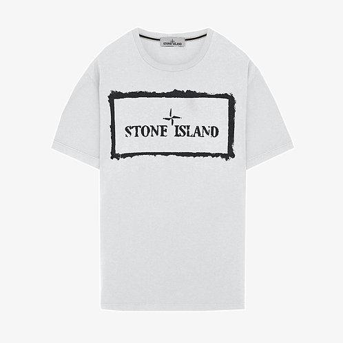 Stone Island Stencil One T-Shirt - White