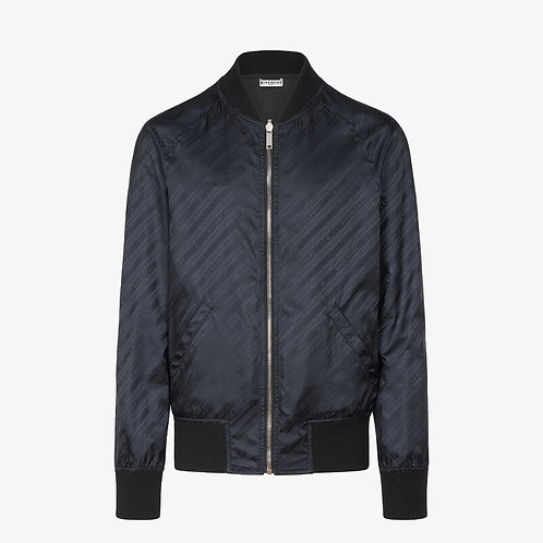 Givenchy Chain Reversible Bomber Jacket - Black