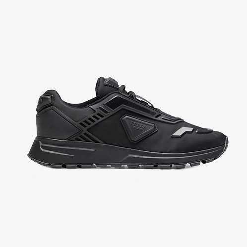 Prada PRAX 01 Nylon Sneakers - Black