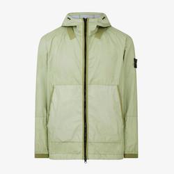 Stone Island Membrana 3L TC Hooded Jacket SS21 - Light Green