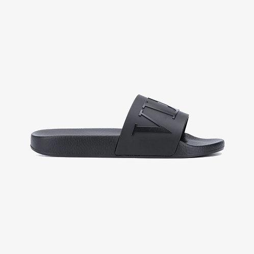 Valentino Garavani VLTN Logo Slides - Black