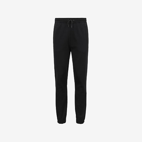 Boss Green Hadiko Joggers with Embroidered Stripes - Black