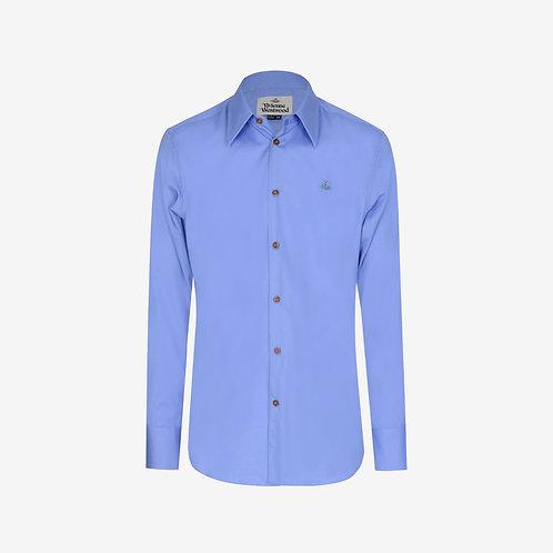 Vivienne Westwood Poplin Long Sleeve Shirt - Blue