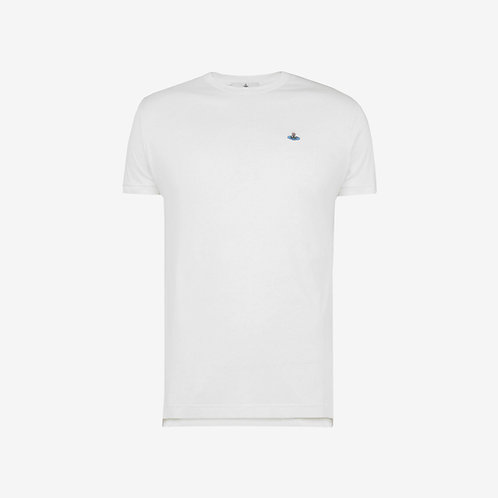 Vivienne Westwood Peru Orb Logo T-shirt - White