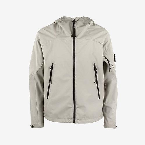 C.P. Company Kids Soft Shell Jacket with Goggle - Paloma Grey