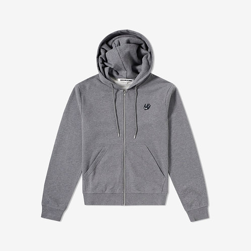 MCQ Swallow Classic Hoodie - Grey