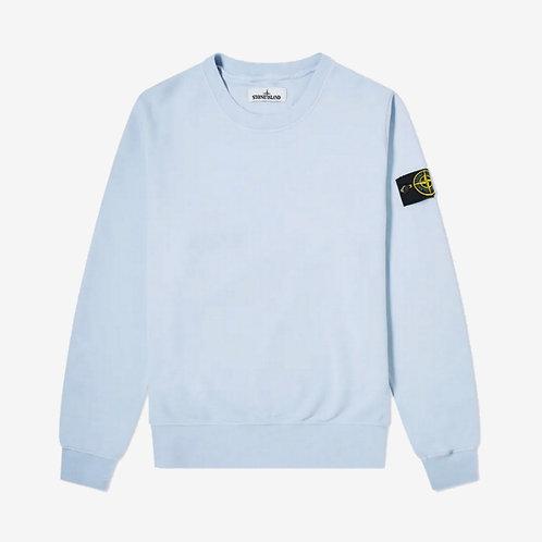 Stone Island Crewneck Sweatshirt - Sky Blue
