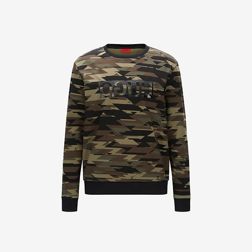 Hugo Boss Driggs Sweatshirt Camouflage Front