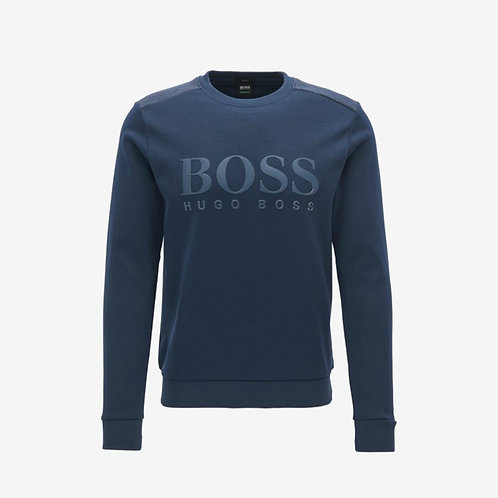Boss Green Salbo Sweatshirt Blue Mens Fashion