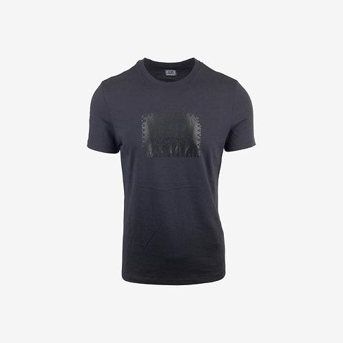 C.P. Company AW18 Printed Patch Logo T-shirt - Navy