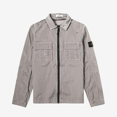 Stone Island Junior Nylon Metal Overshirt - Grey