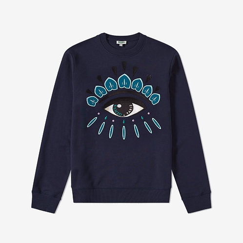 Kenzo Embroidered Eye Sweatshirt - Ink/Navy