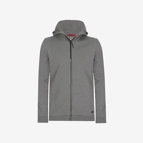 Hugo Boss Dattis Hoodie Light Grey Front