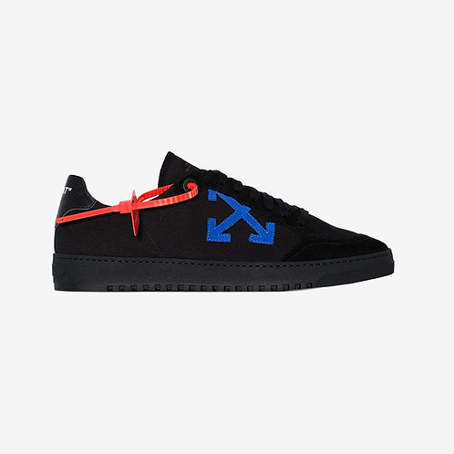 Off-White Arrows Low-Top Sneakers Black and Blue