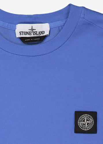c81dae0b2 Stone Island Patch Logo T-Shirt - Periwinkle Blue