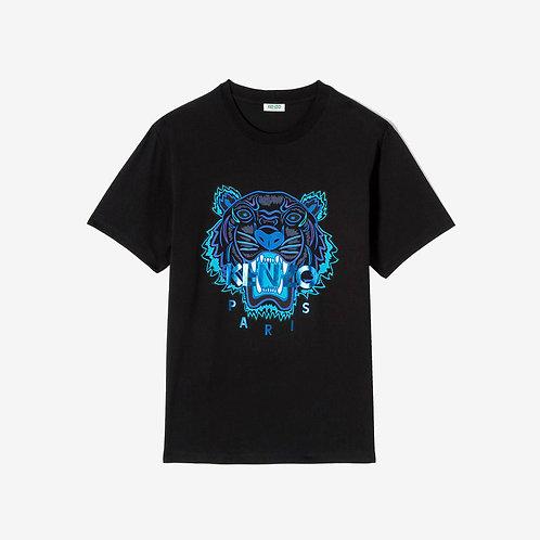 Kenzo Printed Tiger 'Holiday Capsule' T-shirt -Black