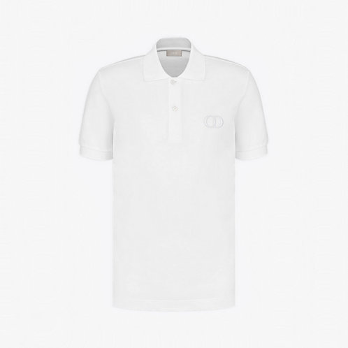 Dior 'CD Icon' Polo Shirt - White