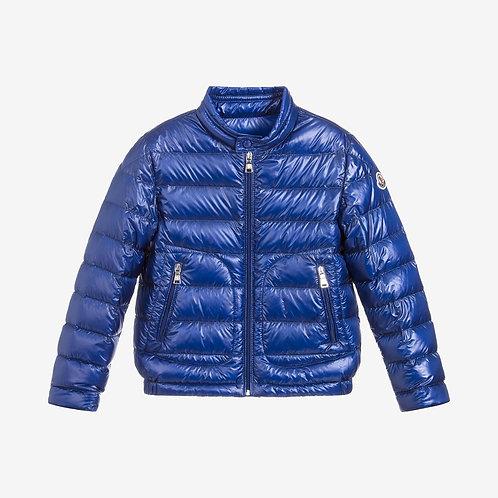 Moncler for Kids 'Acorus' Down Jacket - Blue
