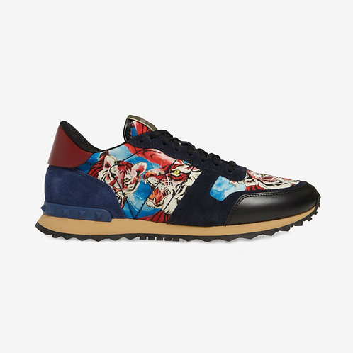 Valentino Tiger Rockrunner Sneakers Blue