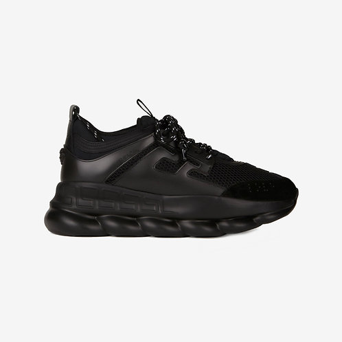 Versace Chain Reaction Trainers - Black