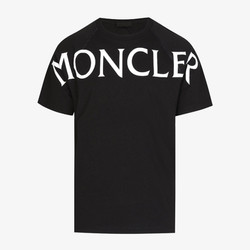 Moncler Over-Sized Print T-Shirt - Black